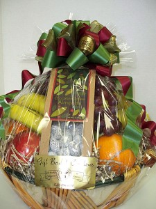 Fresh Fruit & Nuts Gift Basket